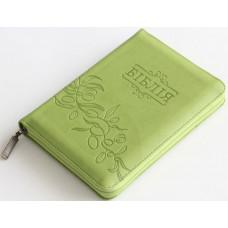 Біблія світло-зеленого кольору
